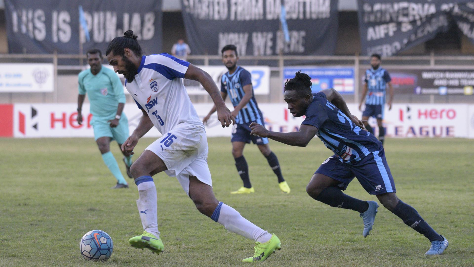 Sandesh Jhingan Minerva Punjab FC Bengaluru FC I-League 2017