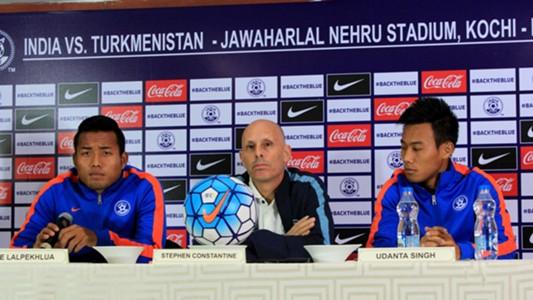 Jeje Lalpekhlua Stephen Constantine Udanta Singh Indian National Team