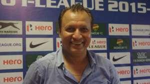 Santosh Kashyap Salgaocar FC I-League
