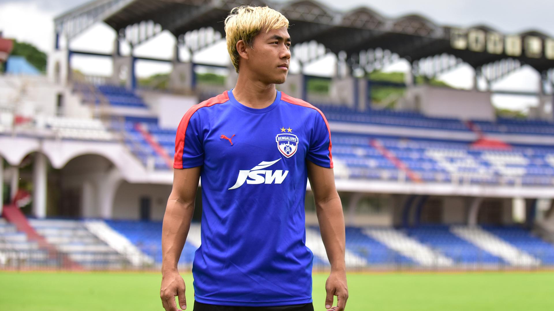 Bidyananda Singh Bengaluru FC training session