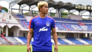 Bidyananda Singh Bengaluru FC training session
