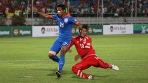 Narayan Das Myanmar India Asian Cup Qualification 2017