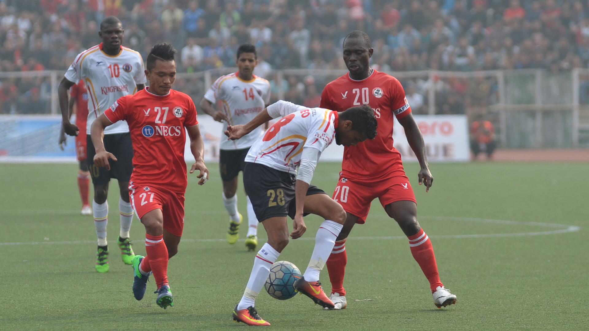 Aizawl FC East Bengal FC I-League 2017