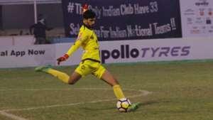 Arshdeep Singh Minerva Punjab FC Mohun Bagan I-League 2017/2018