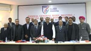 Praful Patel AIFF Annual General Body Meeting