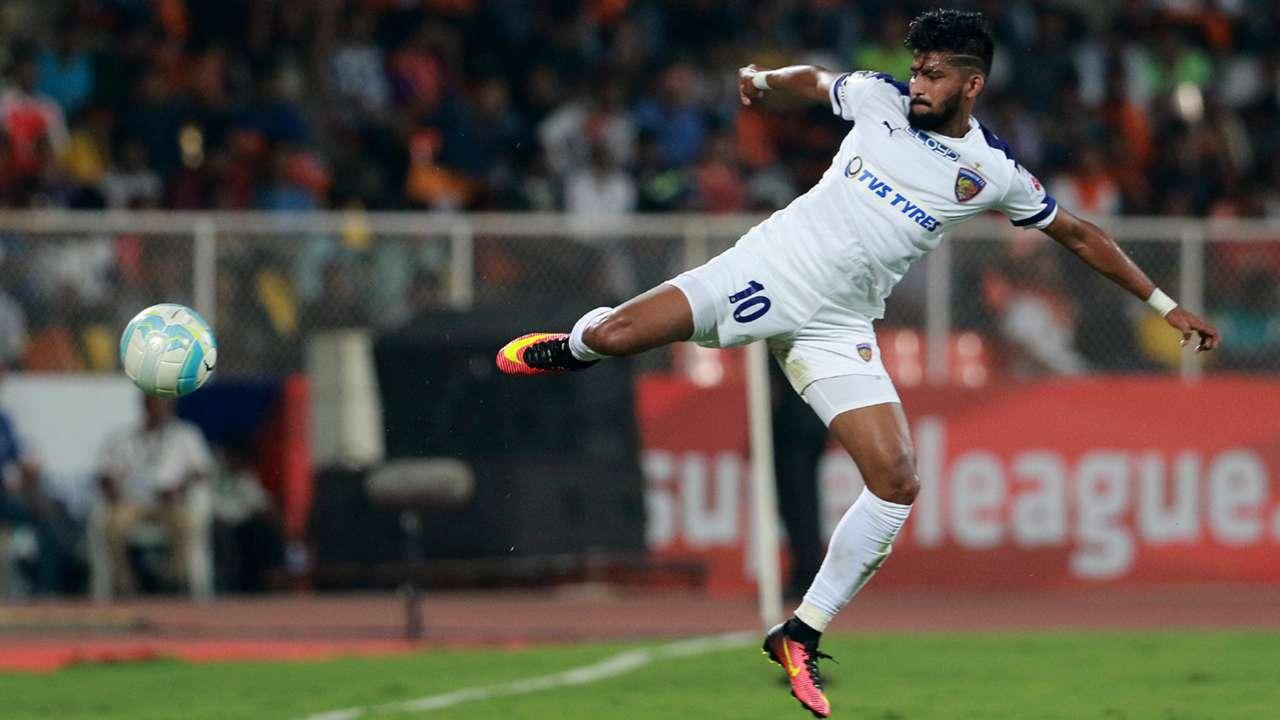 Jayesh Rane FC Pune City Chennaiyin FC ISL season 3 2016