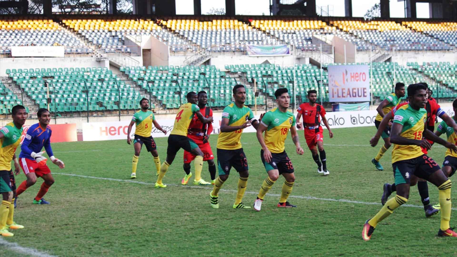 Chennai City FC Minerva Punjab FC I-League 2017