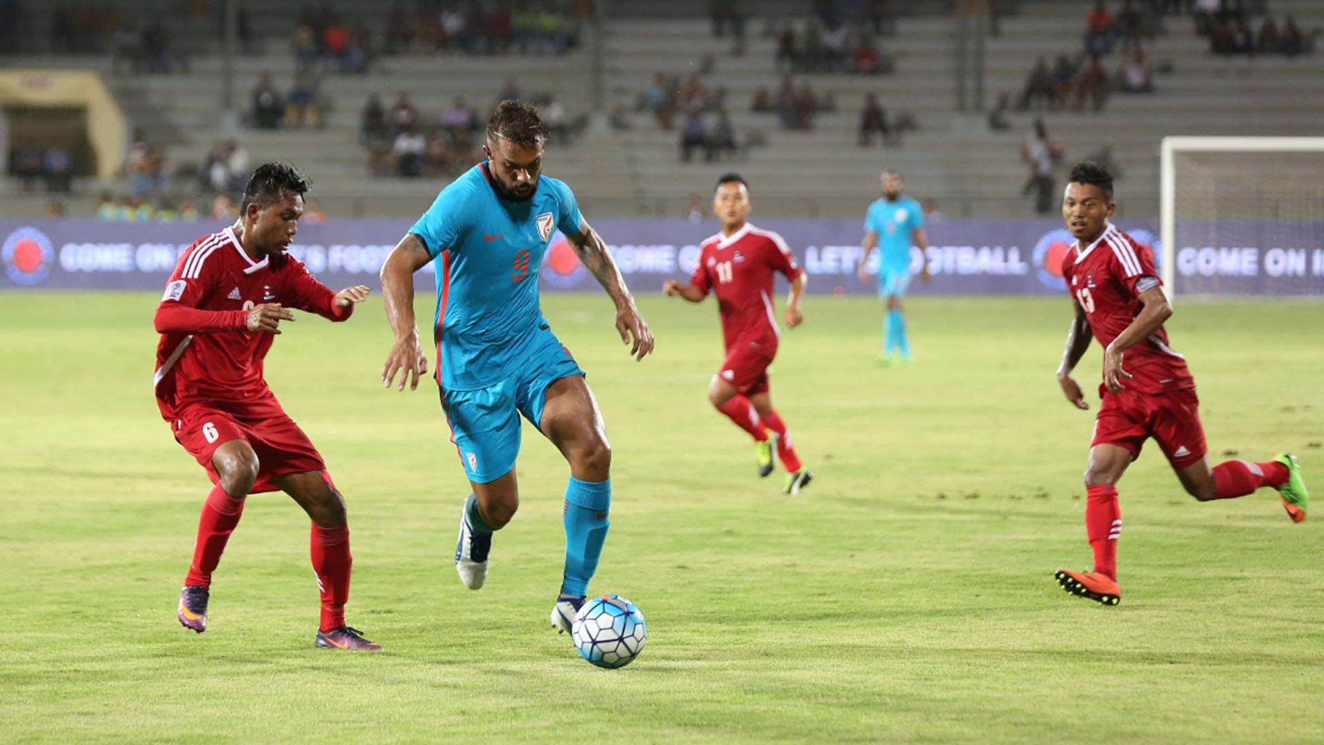 Robin Singh India Nepal International Friendly 2017