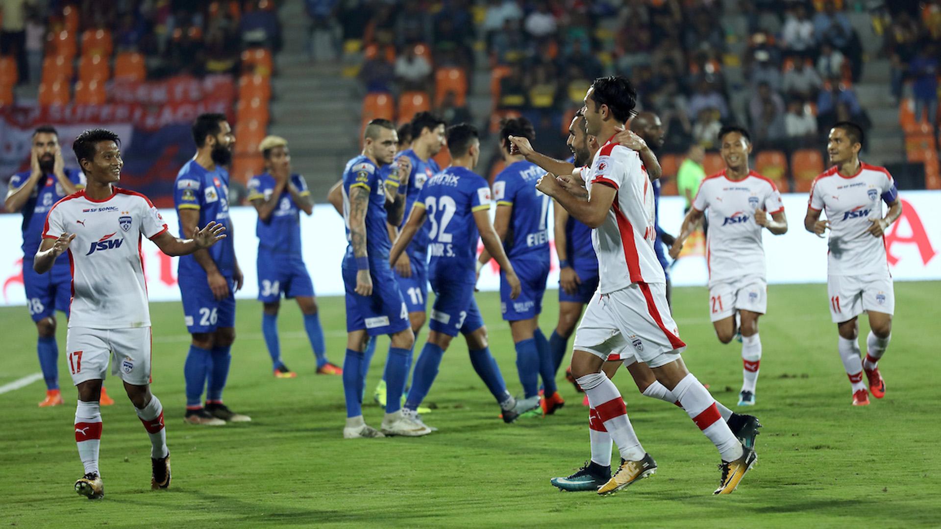 Nikolas Fedor (Miku) Mumbai City FC Bengaluru FC ISL 4 2017/2018