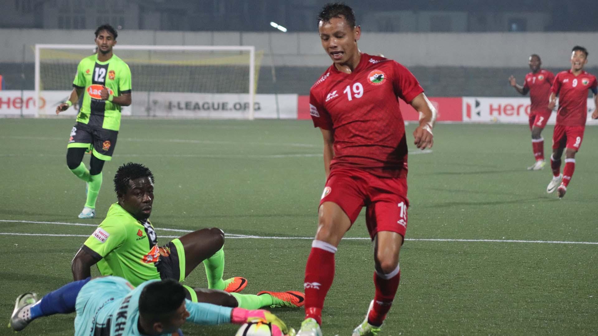 Redeem Tlang Shillong Lajong FC Gokulam I-League 2017/2018