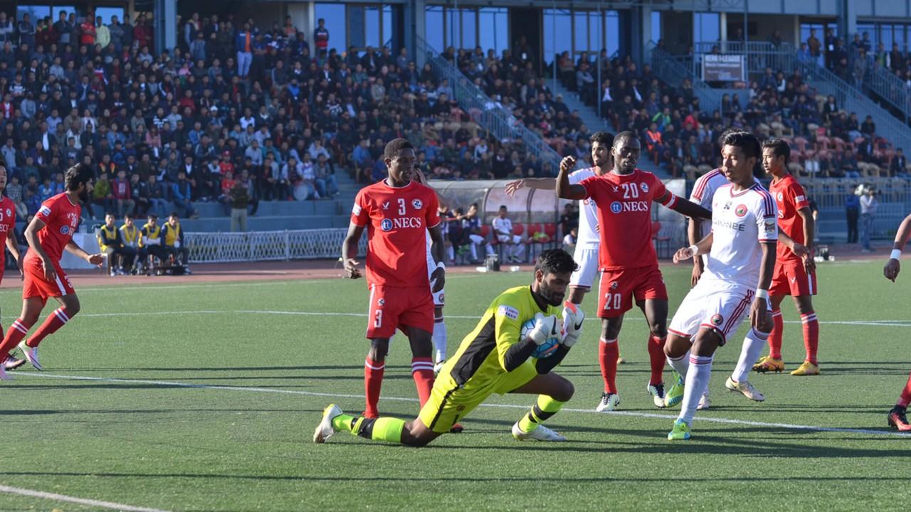 Albino Gomes Aizawl FC Shillong Lajong FC I-League 2017