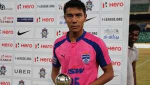 Daniel Lalhlimpuia Chennai City FC Bengaluru FC I-League 2017