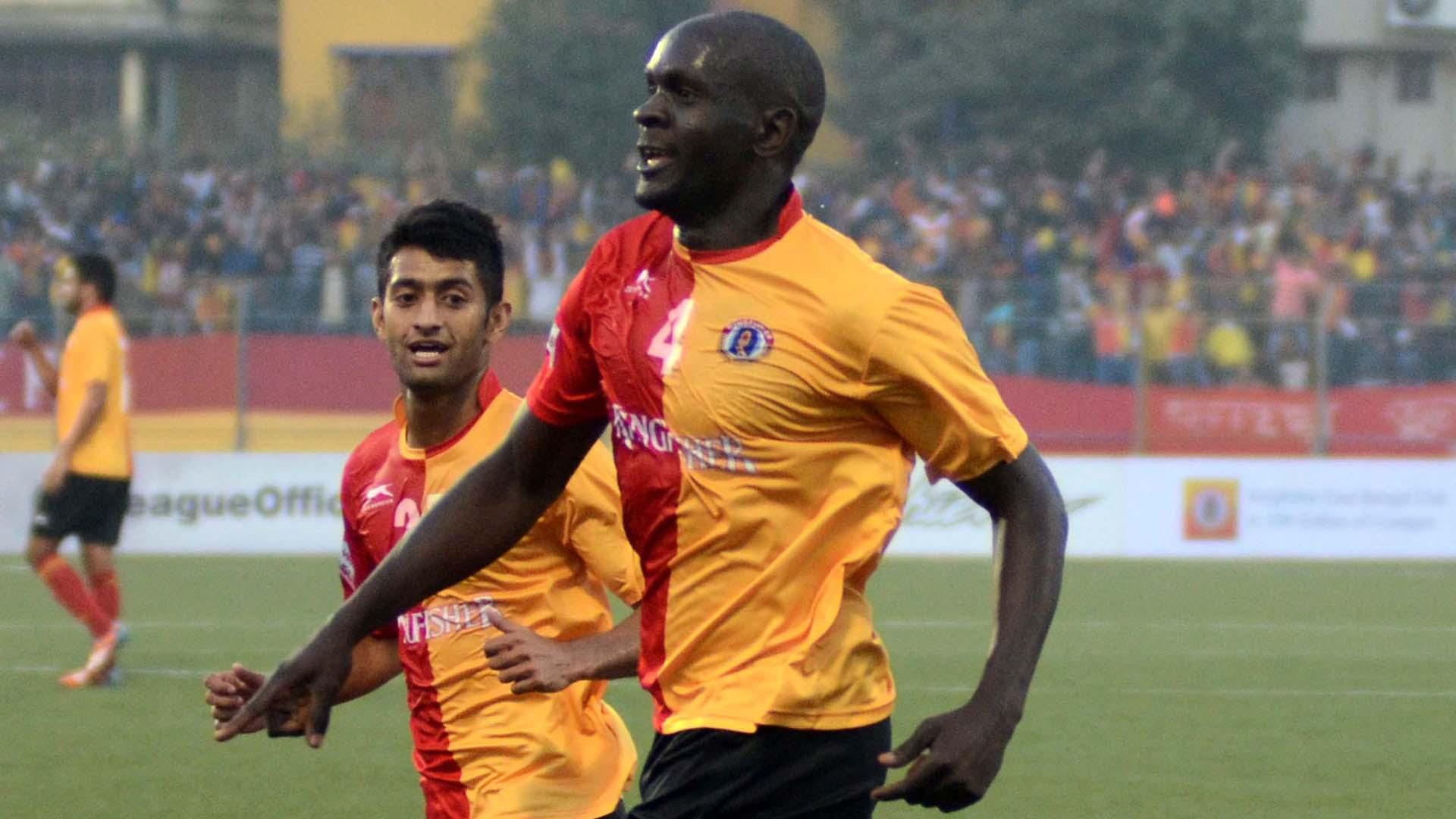 Ivan Bukenya East Bengal Bengaluru FC I-League 2017