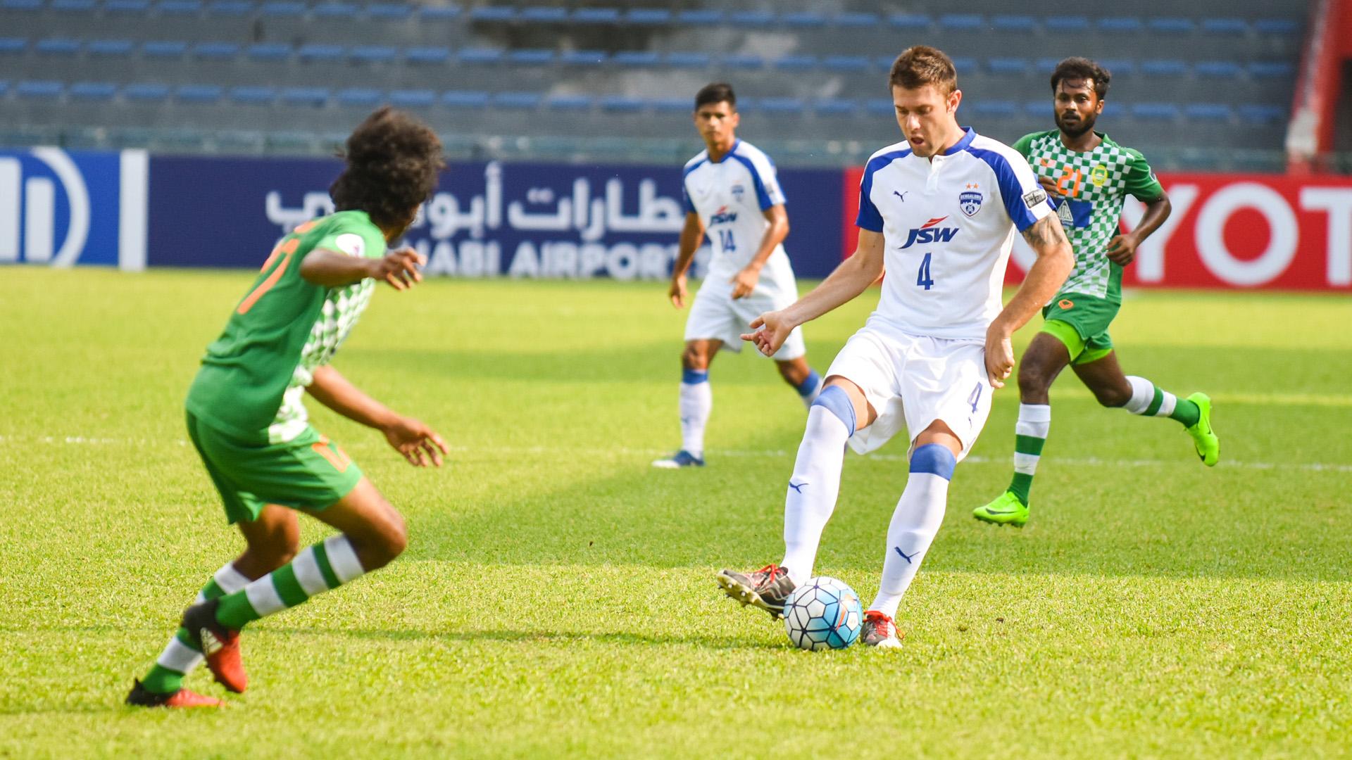 Juanan Gonzalez Maziya Bengaluru FC AFC Cup Group Stage 2017