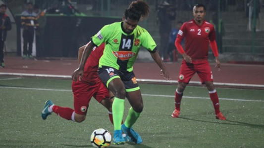 Shinu Shillong Lajong FC Gokulam I-League 2017/2018