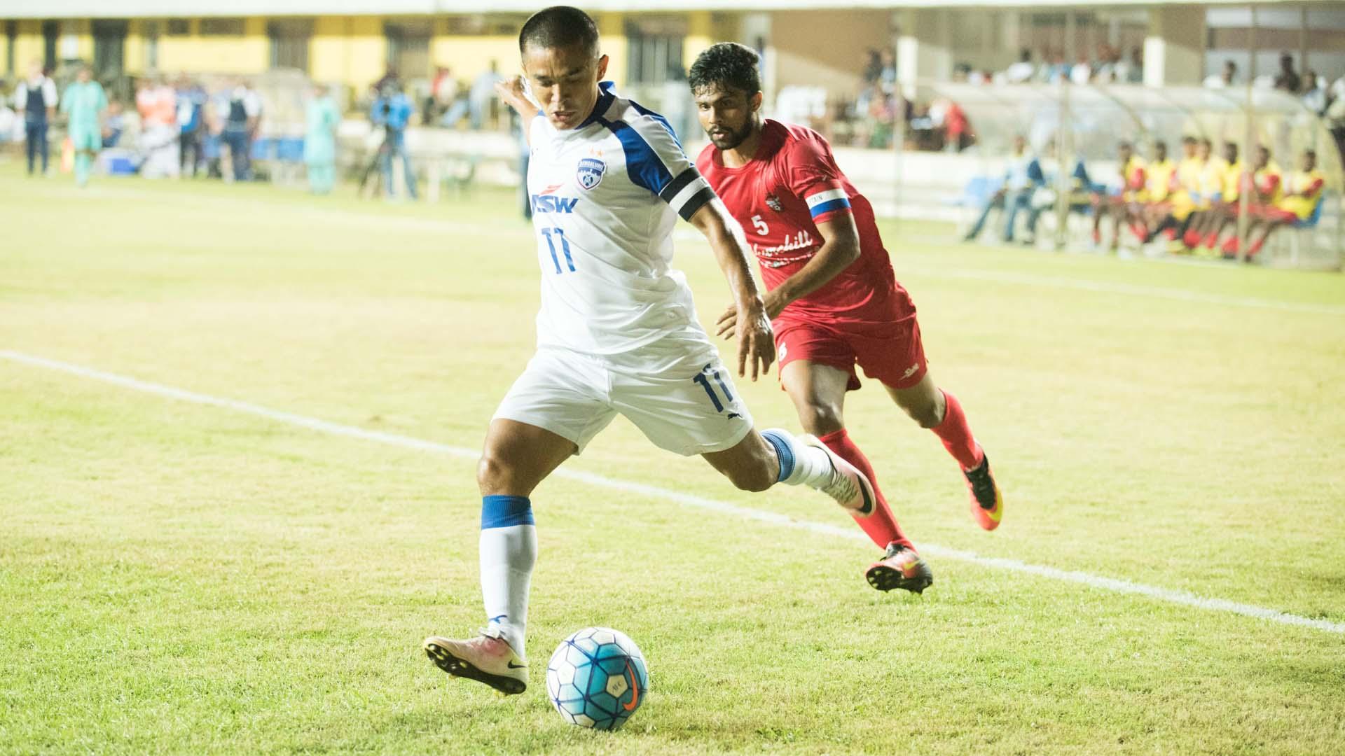 Sunil Chhetri Churchill Brothers Bengaluru FC I-League 2017