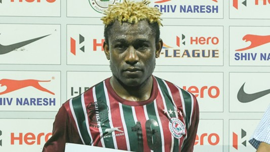 Sony Norde Mohun Bagan Mumbai FC I-League 2017
