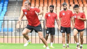 Erik Paartalu Bengaluru FC practice session