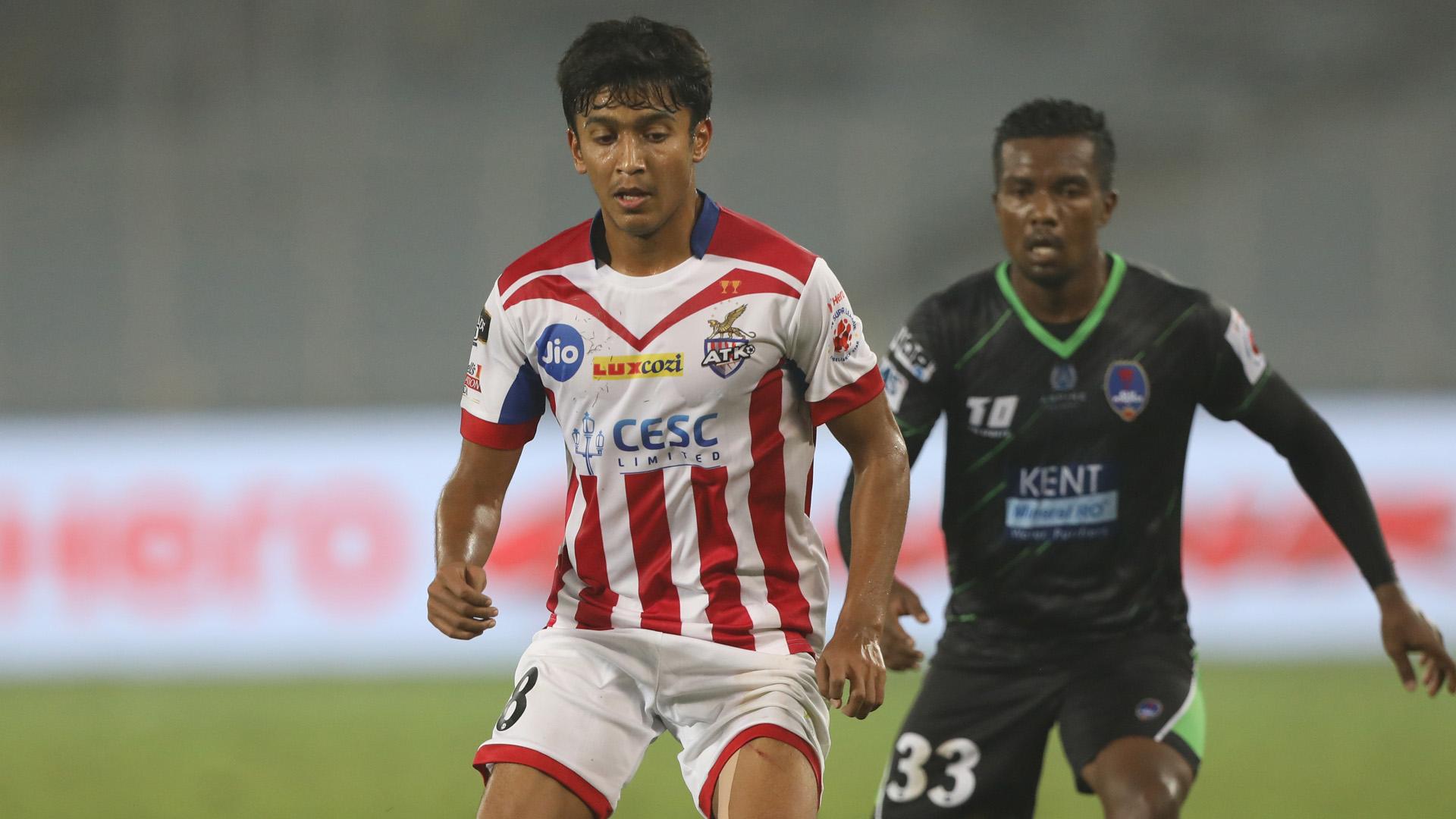 Hitesh Sharma ATK Delhi Dynamos FC ISL 4 2017/2018