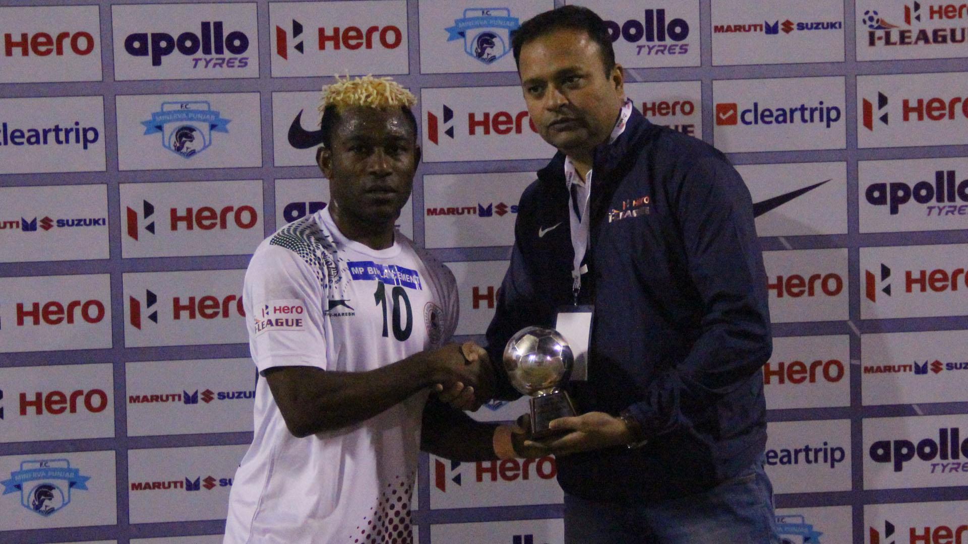 Sony Norde Minerva Punjab FC Mohun Bagan I-League 2017/2018