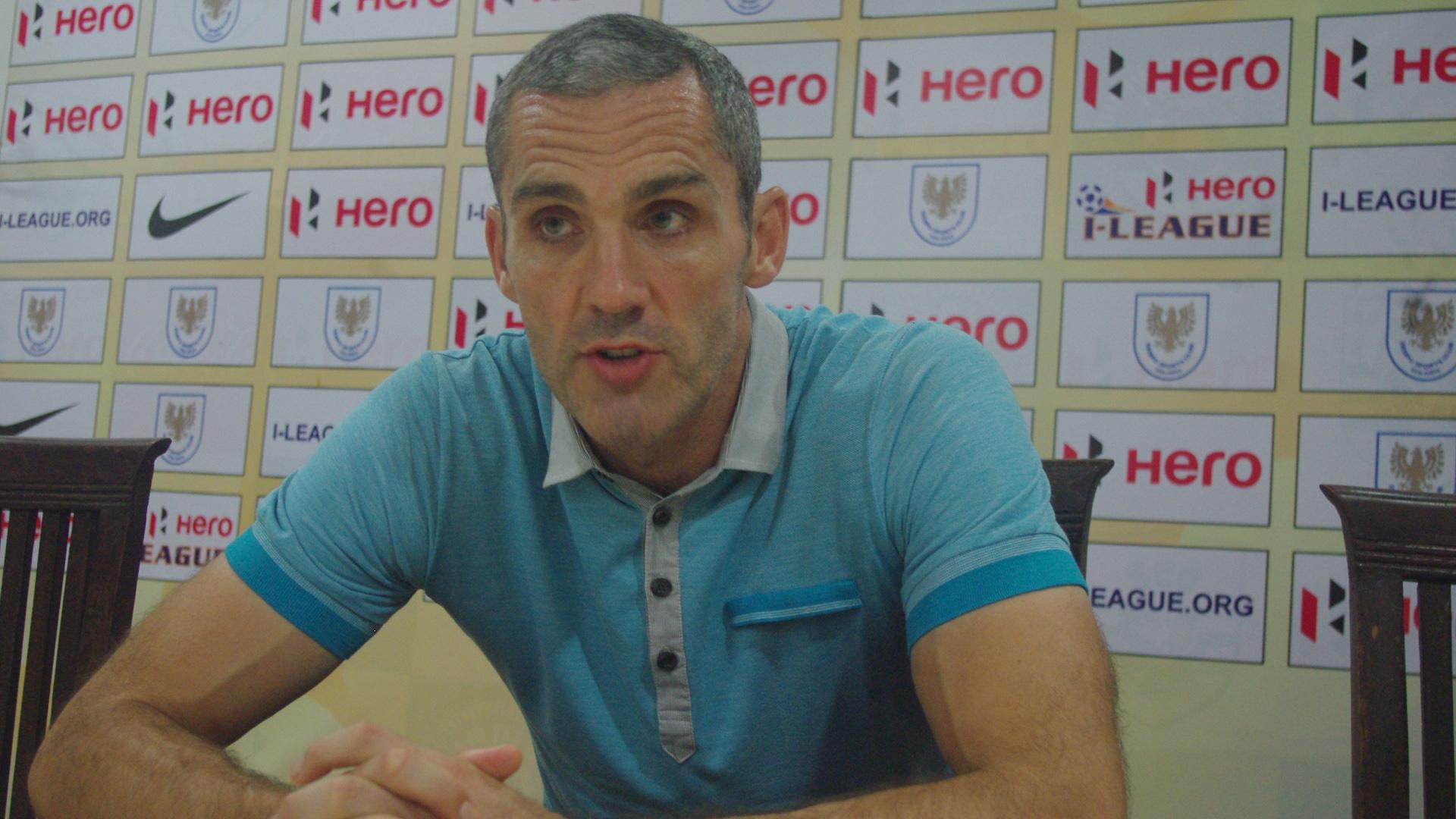 Stuart Watkiss Bharat FC I-League