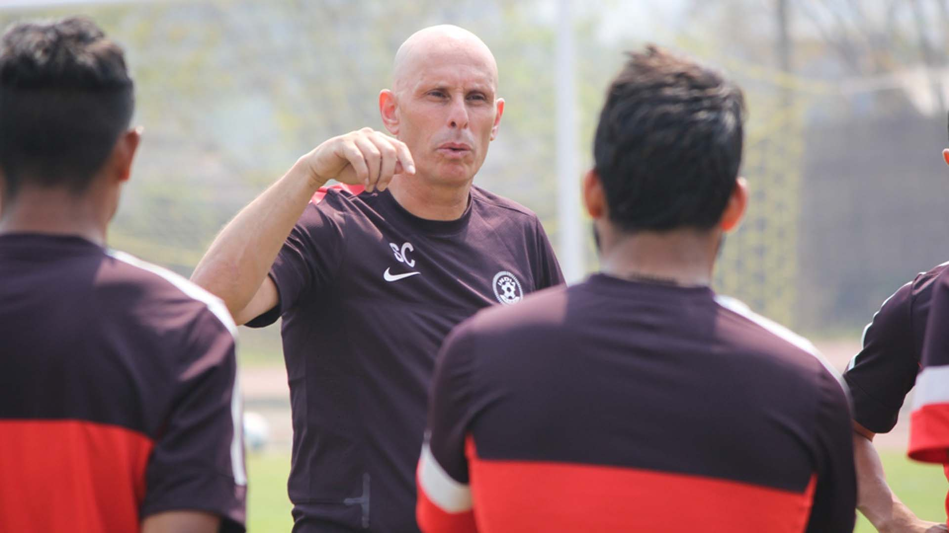 Stephen Constantine Indian National Team coach