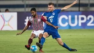 Bikramjit Singh Cameron Watson Bengaluru FC Mohun Bagan AFC Cup 2017