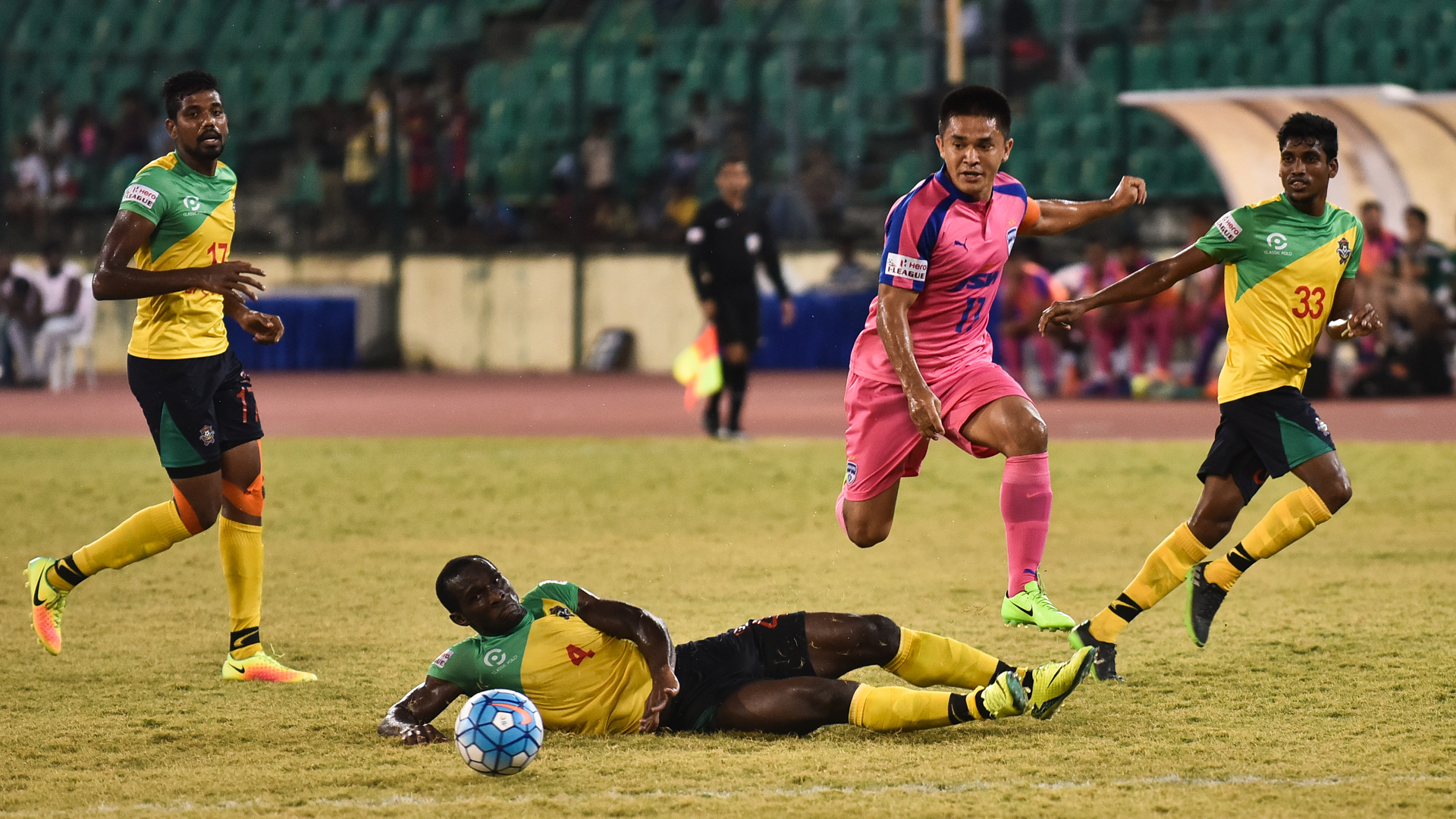 Sunil Chhetri Chennai City FC Bengaluru FC I-League 2017