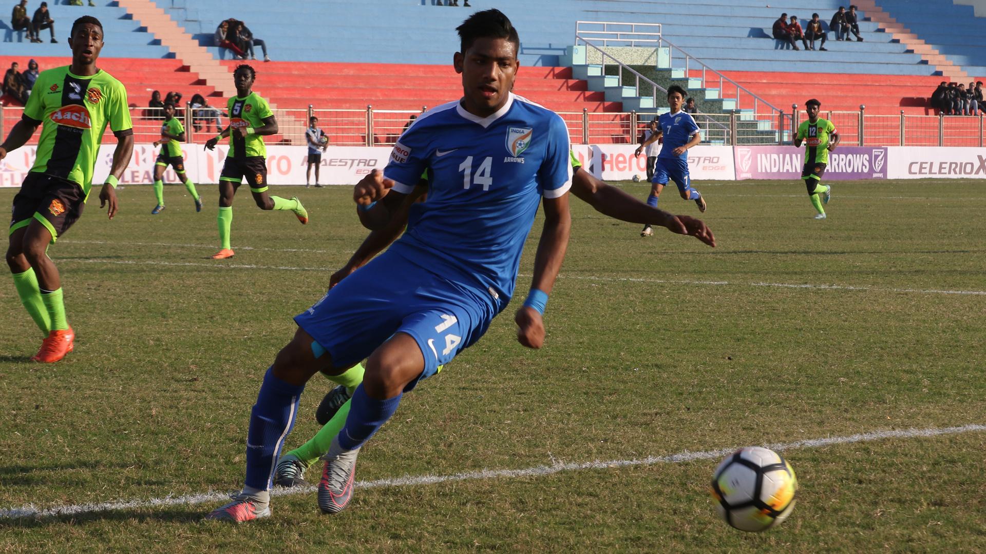 Rahim Ali Indian Arrows Gokulam FC I-League 2017/2018