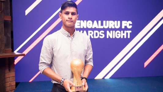 Eugeneson Lyngdoh Bengaluru FC Awards Night 2016