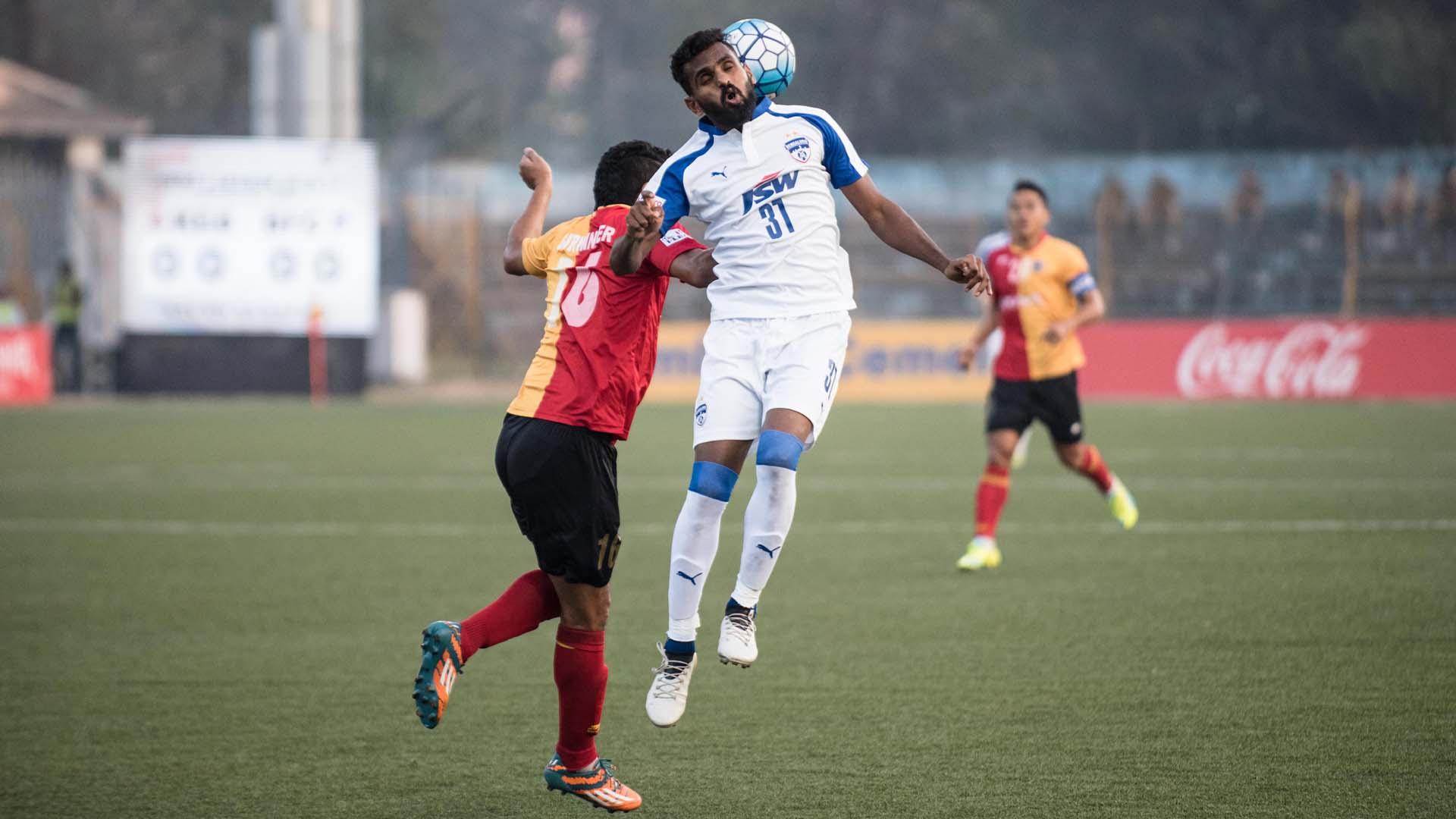 East Bengal Bengaluru FC I-League 2017