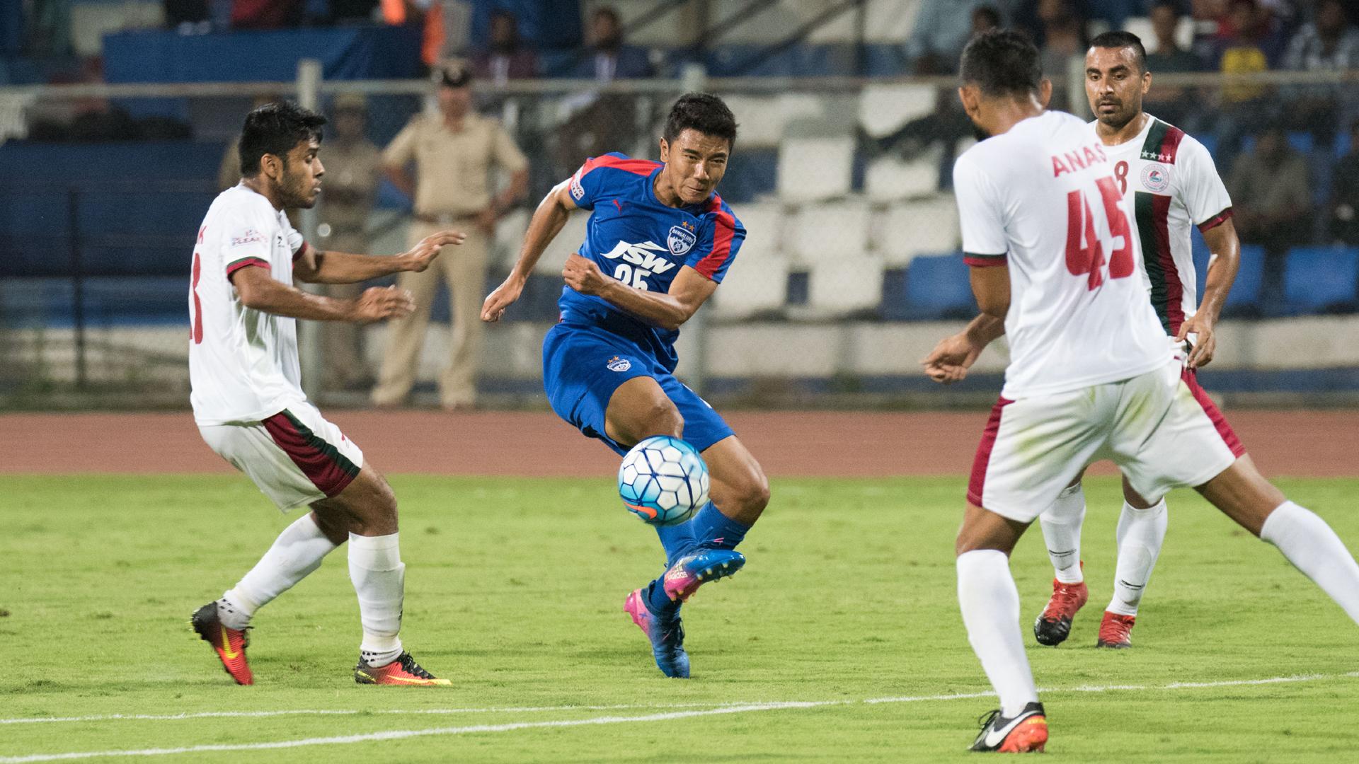 Daniel Lalhlimpuia Bengaluru FC Mohun Bagan I-League 2017