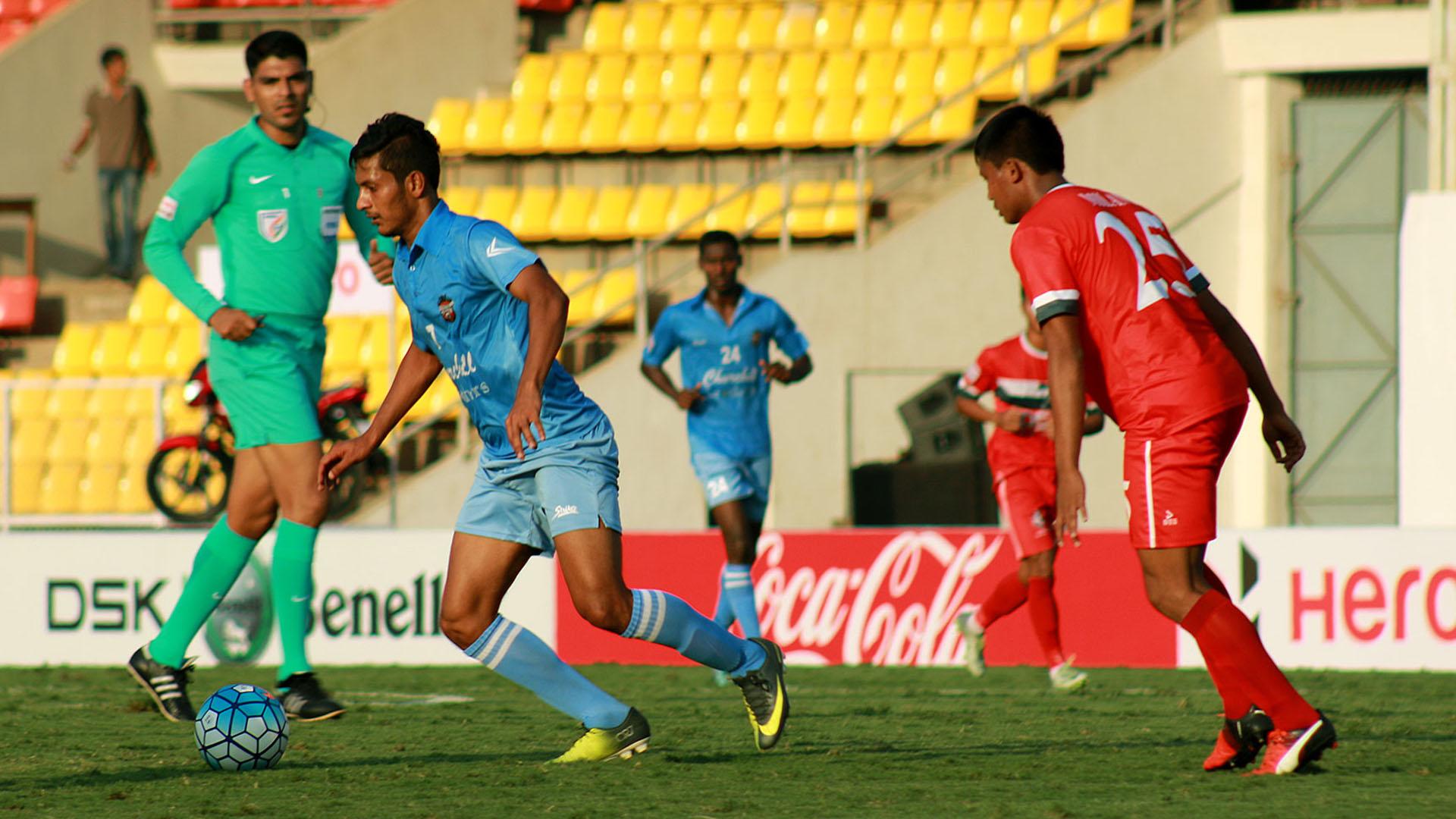 Seriton Fernandes DSK Shivajians FC Churchill Brothers I-League 2017