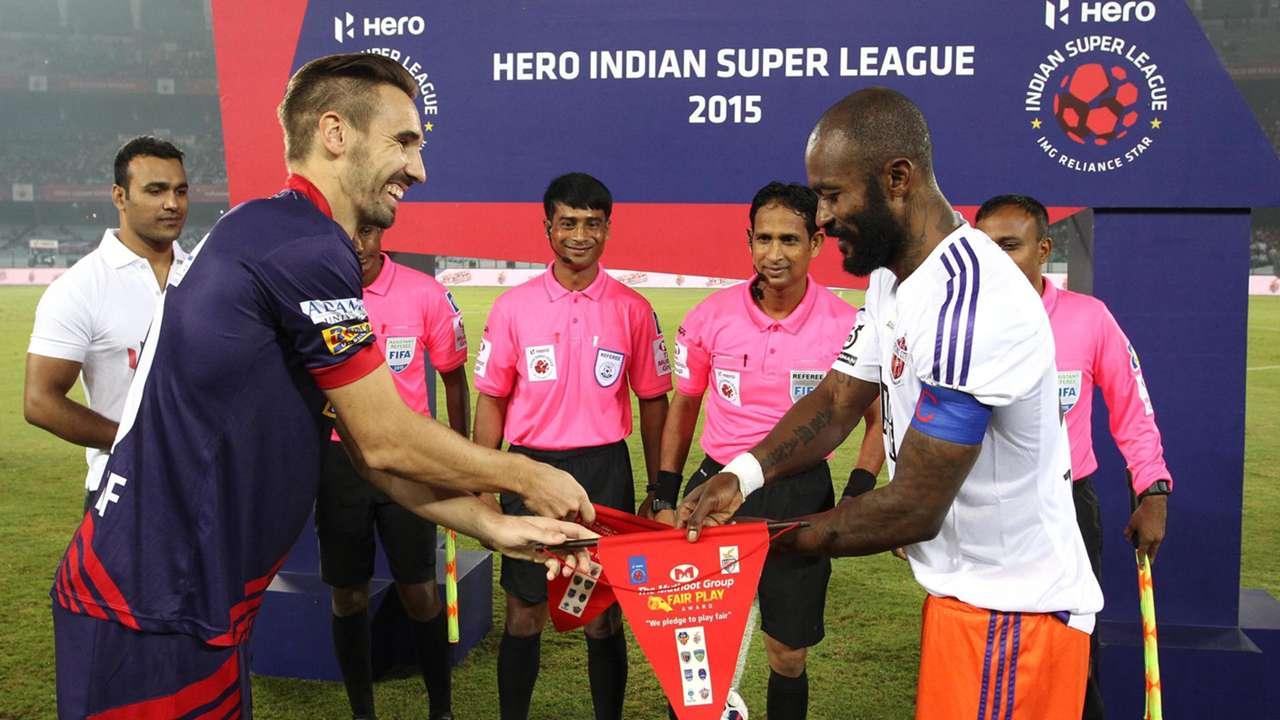 Borja Fernandez Didier Zakora Atletico de Kolkata FC Pune City ISL season 2