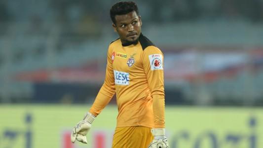Debjit Majumder ATK FC Goa ISL 4 2017/2018