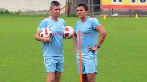Trevor Morgan East Bengal FC Pre-Season practice session
