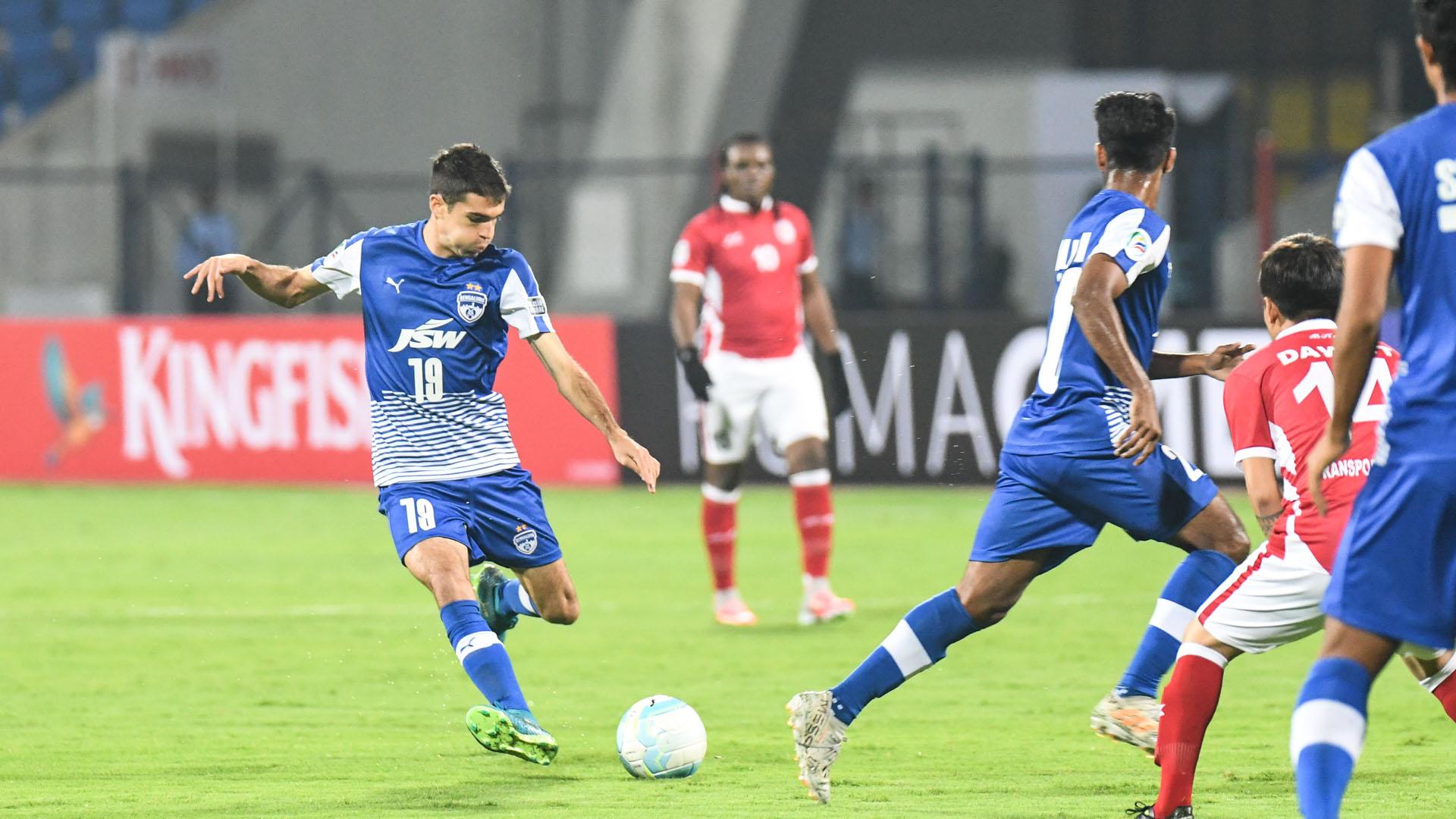 Toni Dovale Bengaluru FC Transport United AFC Cup Preliminary Round 2018
