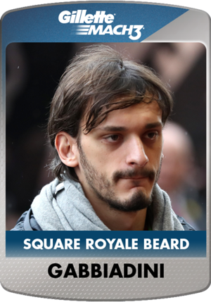 Gabbiadini Gillette: Beard of the Month