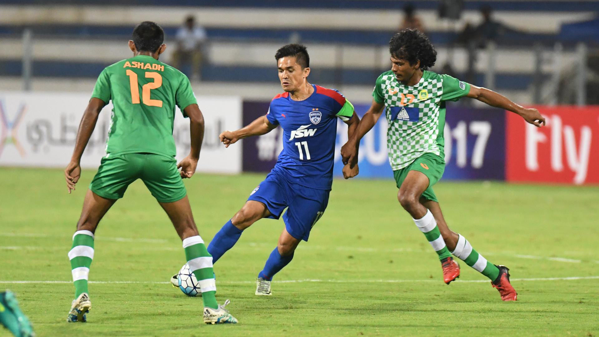 Sunil Chhetri Bengaluru FC Maziya AFC Cup Group Stage 2017