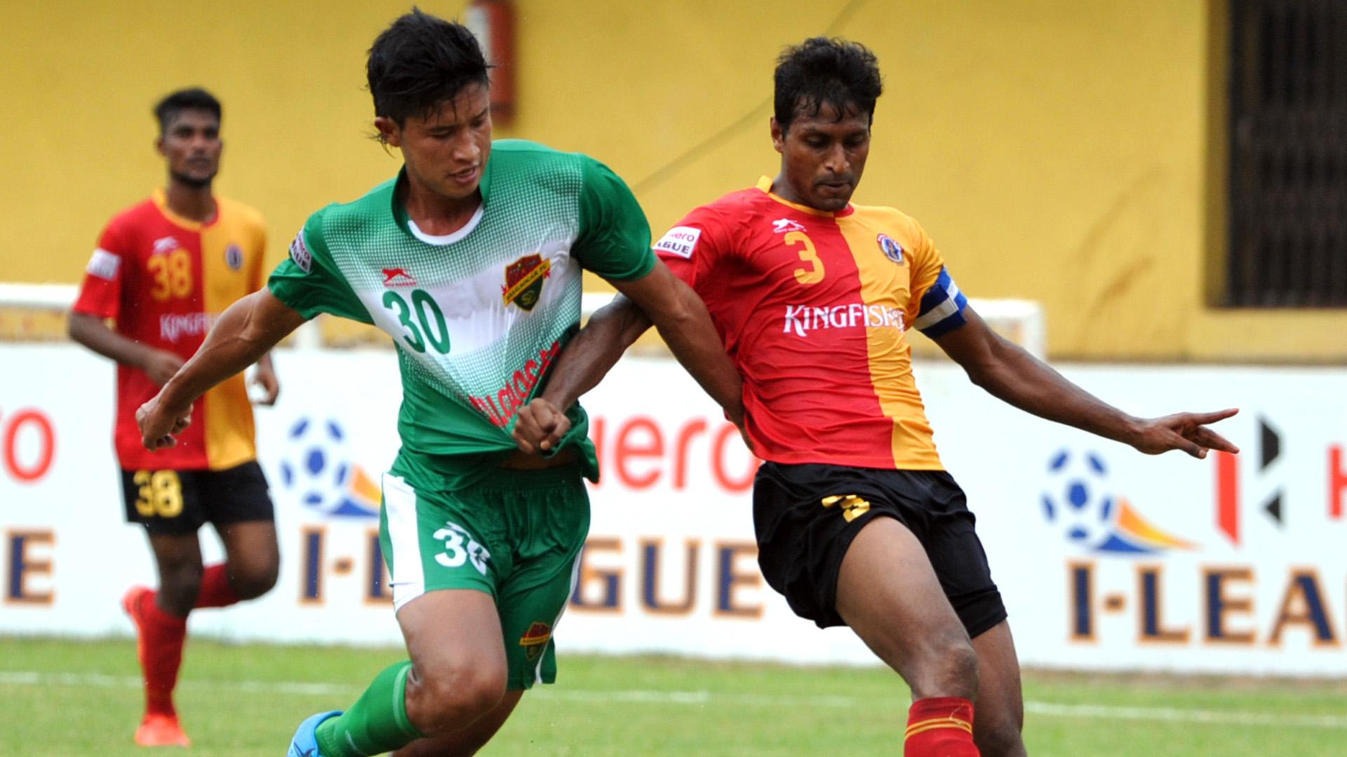 Thongkhosiem Haokip Arnab Mondal Salgaocar FC East Bengal FC I-League