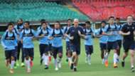 Indian National Team practice session