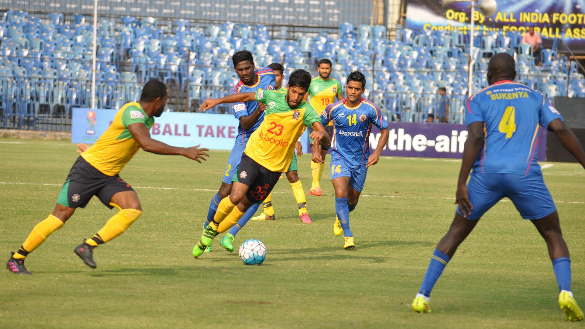 Michael Soosairaj Chennai City FC East Bengal Federation Cup 2017