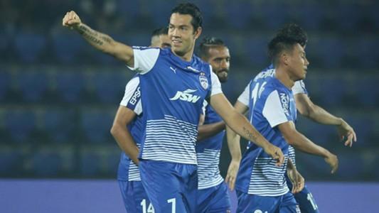 Nicolas Fedor NorthEast United FC Bengaluru FC ISL 4 2017/2018