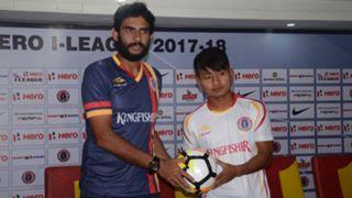 Khalid Jamil Brandon Vanlalremdika East Bengal I-League 2017/2018