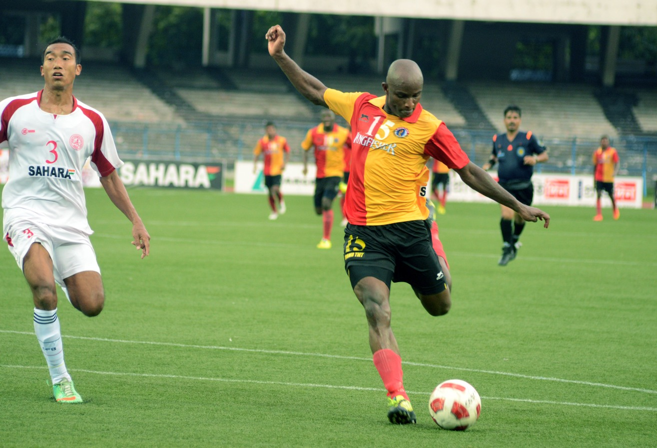 Dudu Omagbemi East Bengal vs. Army XI CFL 09042014