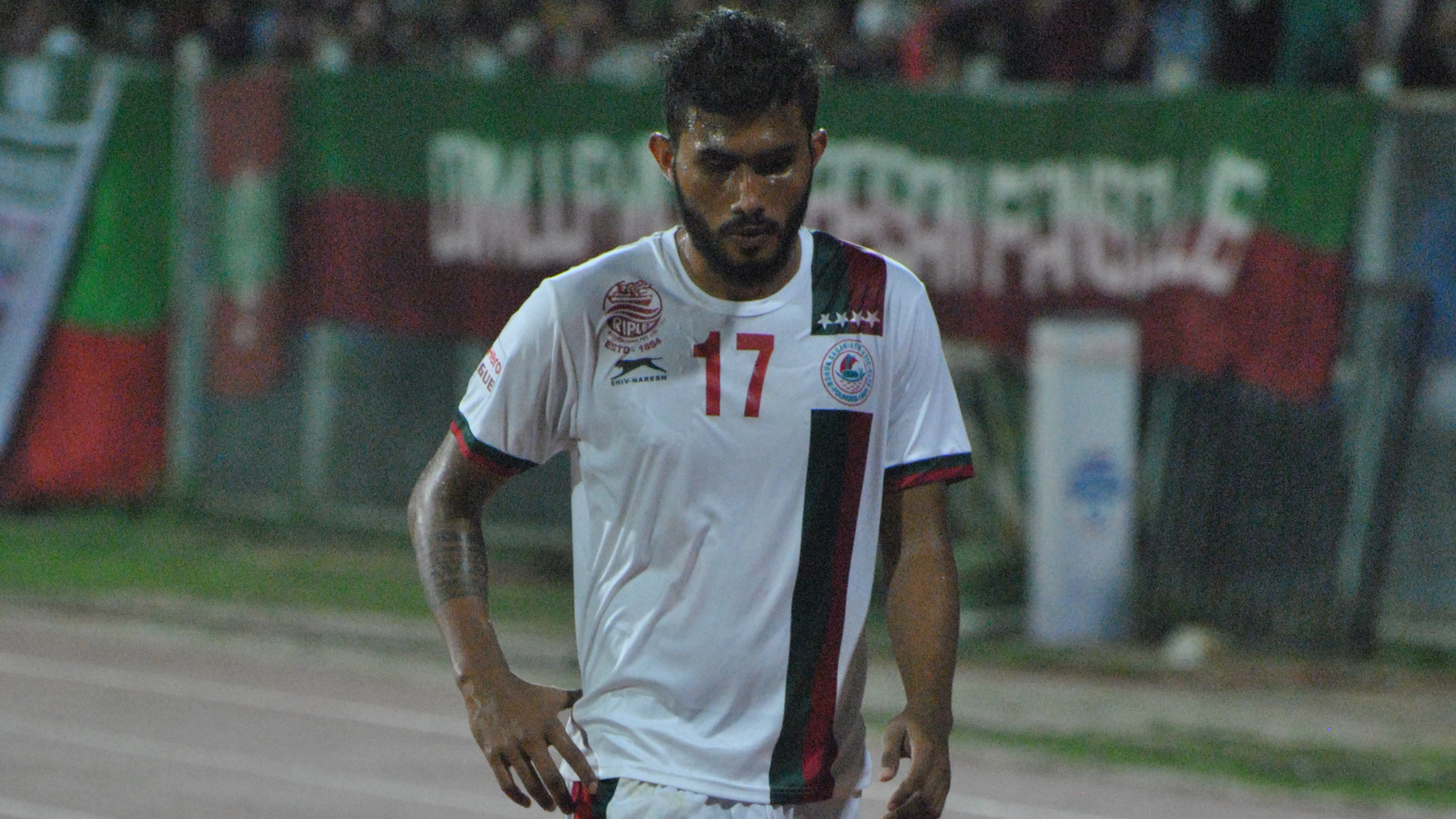 Subashish Bose Bengaluru FC Mohun Bagan I-League 2017