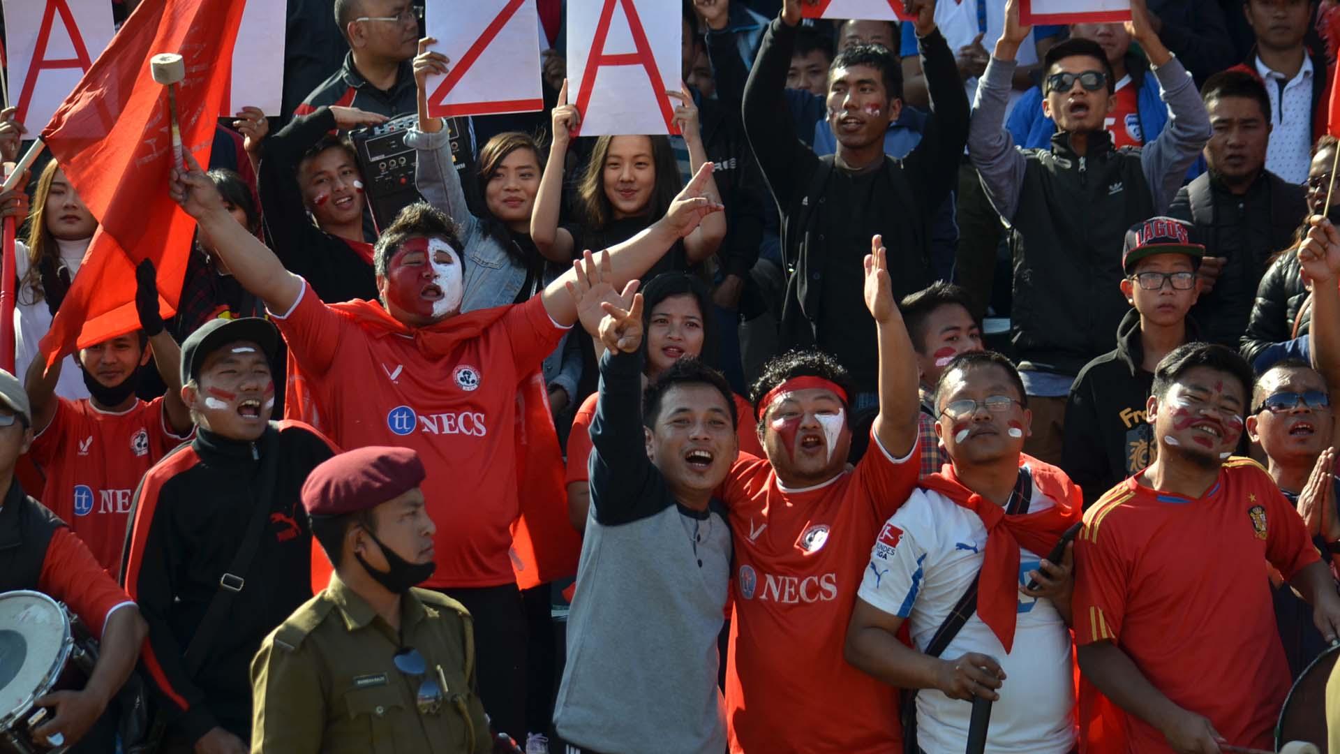Aizawl FC supporters
