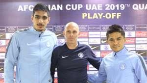 Gurpreet Singh Sandhu Stephen Constantine Sunil Chhetri India Laos 2019 AFC Asian Cup Qualifier