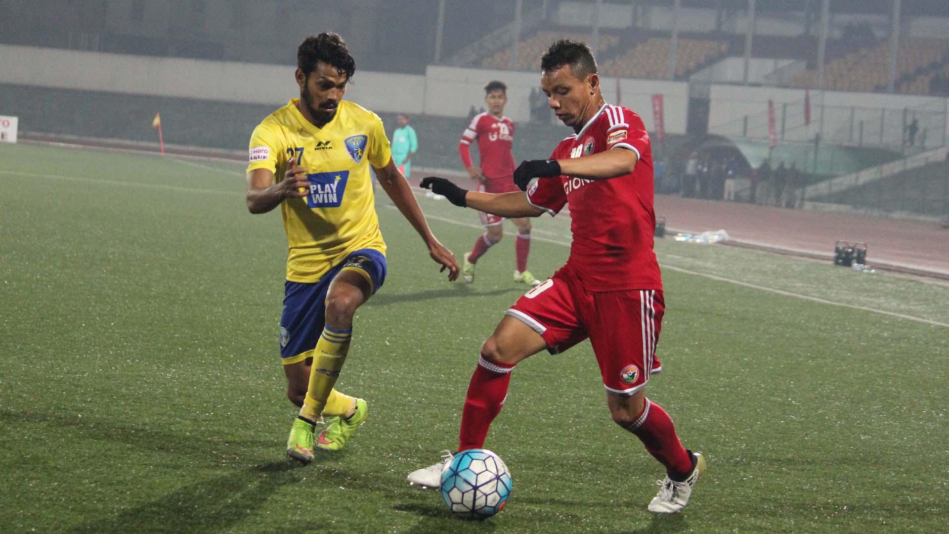 Clyde Fernandes Redeem Tlang Shillong Lajong FC Mumbai FC I-League 2017