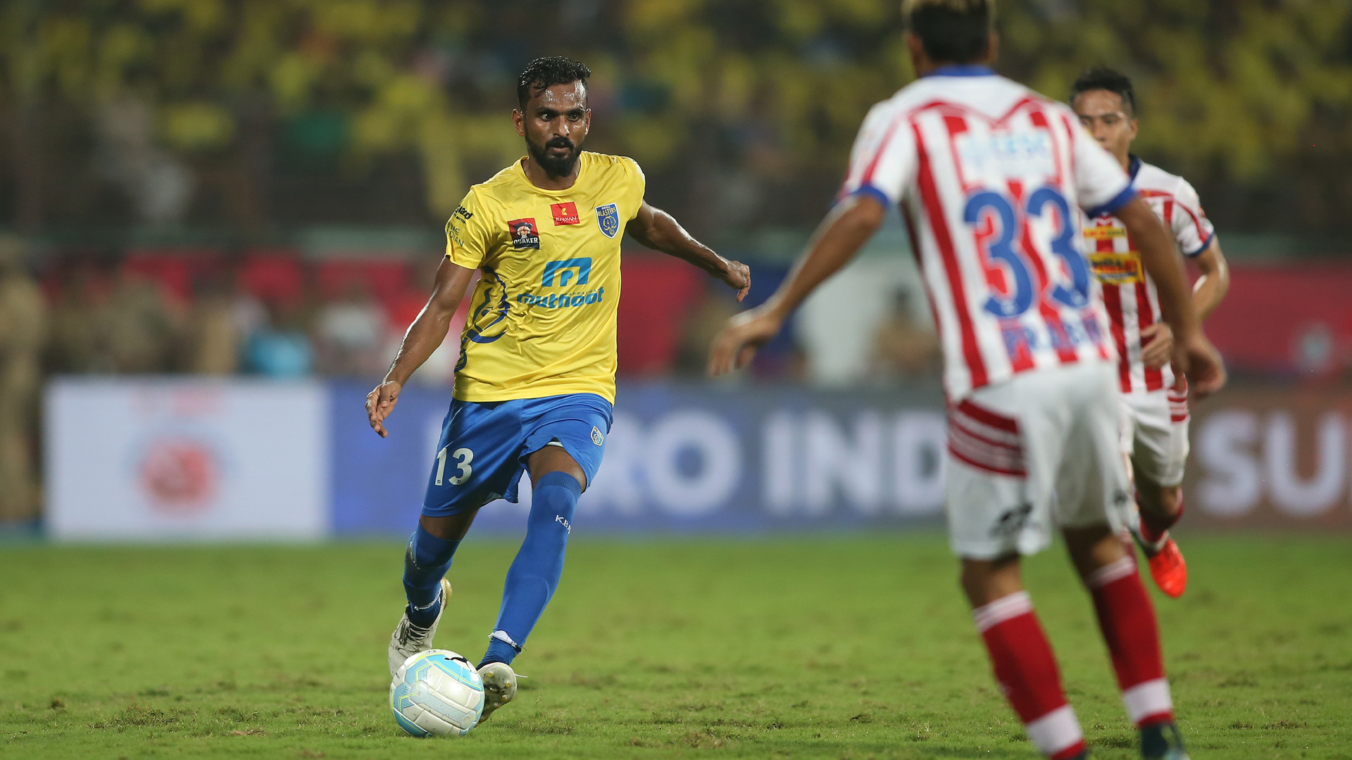 The emergence of C.K. Vineeth has been a positive outcome.
